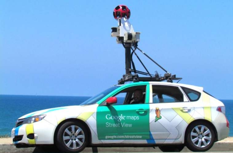 google maps carro google mapos