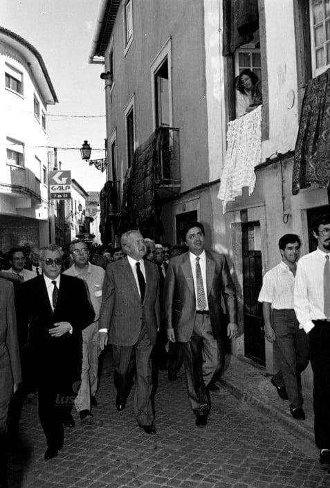 Mario Soares em Tomar 9 6 1991 b