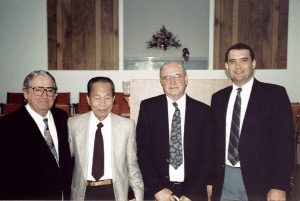 Ernest Reisinger, Aung-Din, Bruce Steward, Tom Ascol, the first elders of Grace