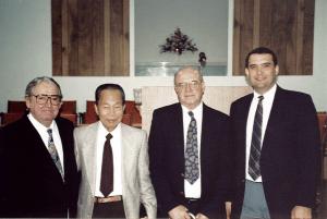 Ernest Reisinger, Aung-Din, Bruce Steward, Tom Ascol, the first elders of Grace