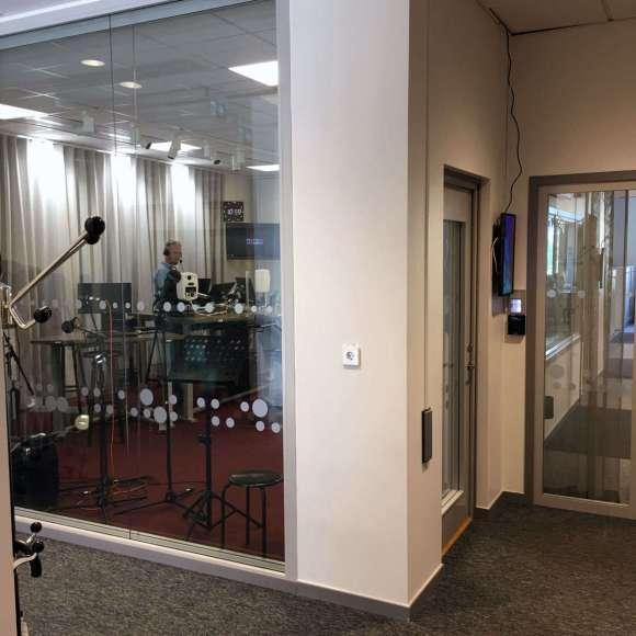 Studion i Sveriges Radio P4 Sjuhärad