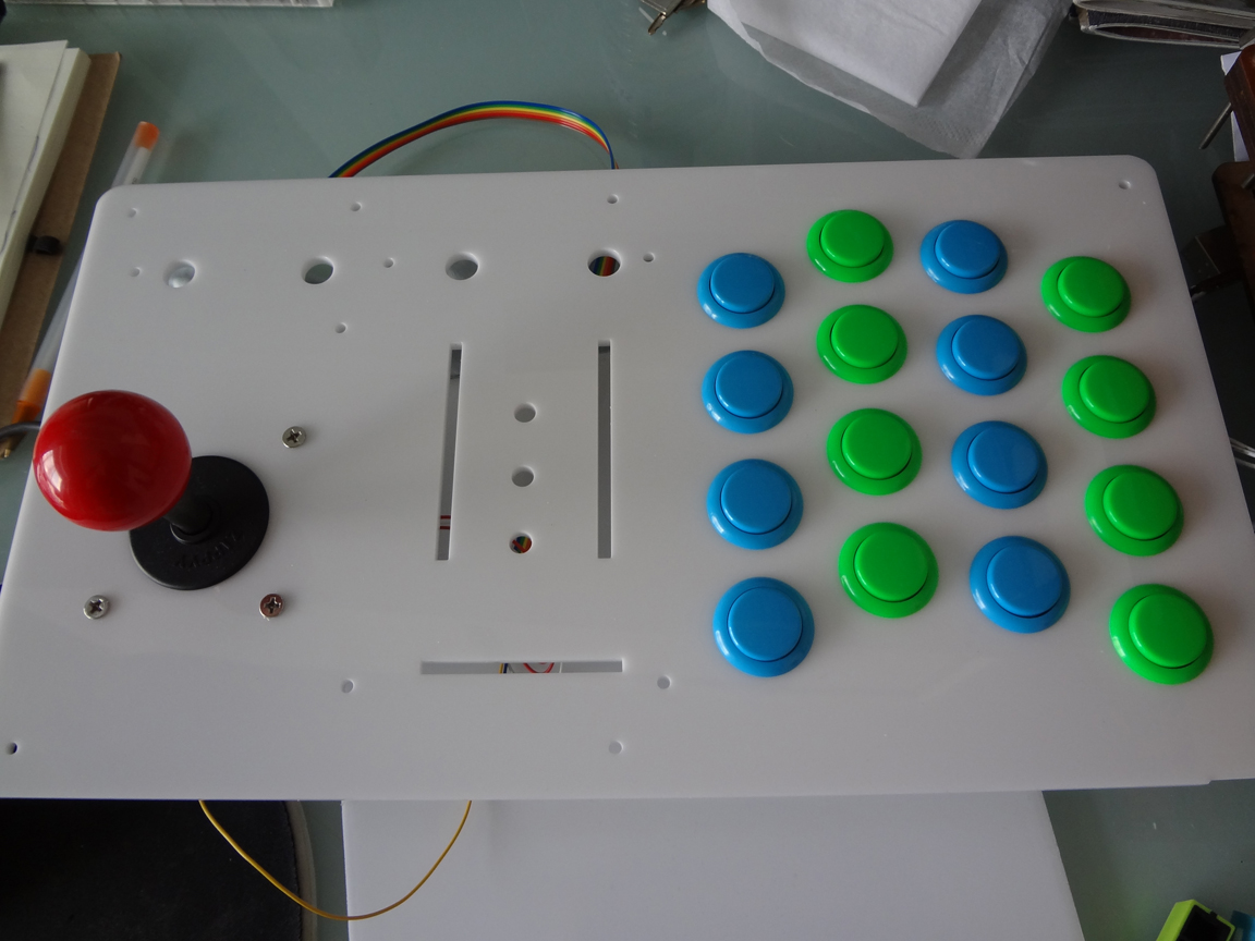 hight resolution of ps after a lot of questions about the wiring of the buttons i decided to update this post one of my goals when building this controller was to make things