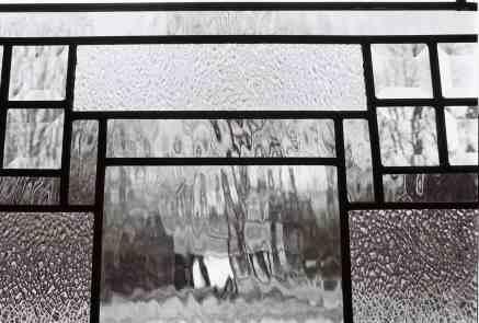 Holiday Window Glass