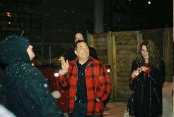 "UFO Factory crowd singing ""Happy Birthday"" to Jim Diamond on his 50th birthday."