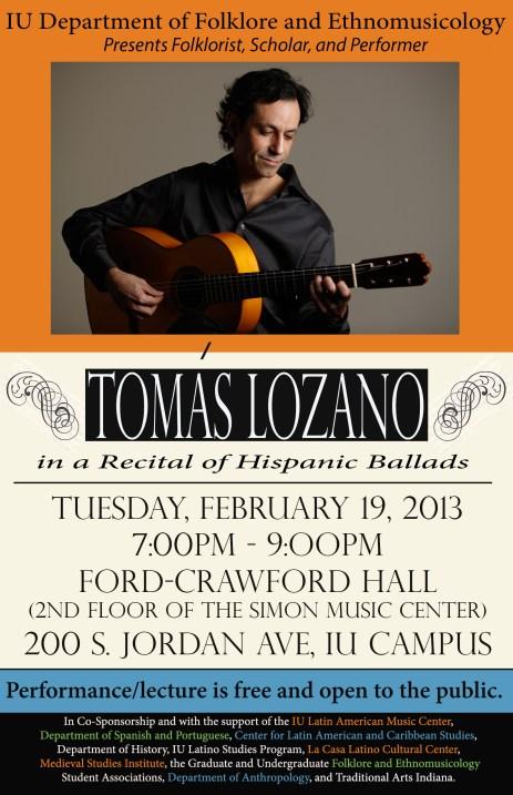 Tom Lozano Poster