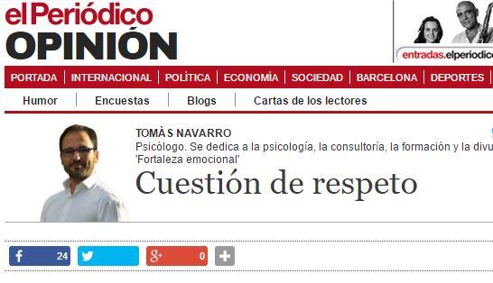 46. cuestión de respeto
