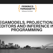 Megamodels, projectional editors and Inference in programming