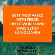 Getting started with Frege: Hello World and basic setup using Maven
