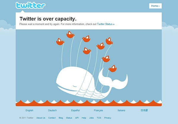 Fail Whale of Twitter