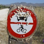 Entrada prohibida a moluscos de motor