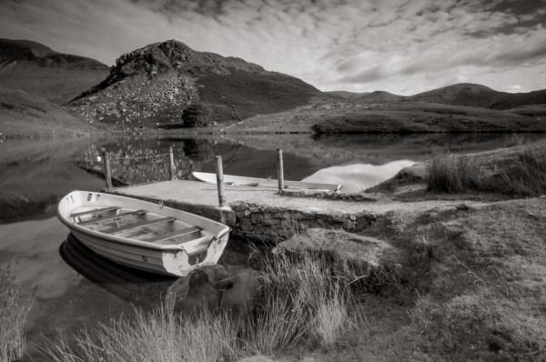 Black & White Landscape Wales Scotland Worcester