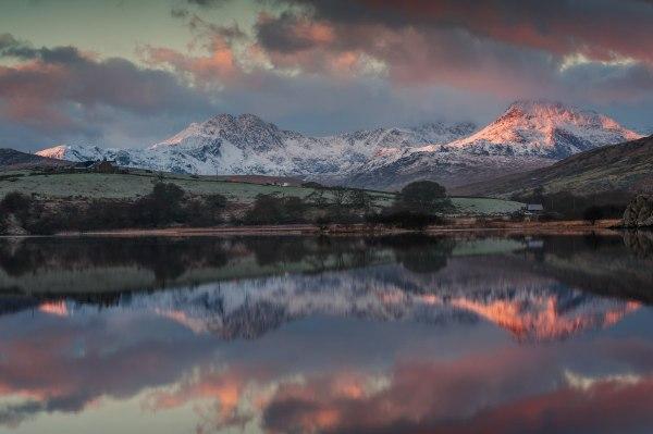 wales landscape snowdonia