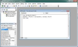 Kurs Excel VBA - Okno MsgBox