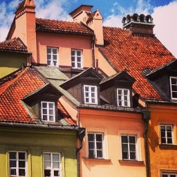 Rooftops, Warsaw Old Town