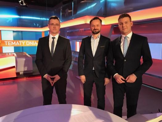 2018-02-15 Polsat News - Tomasz Trocki