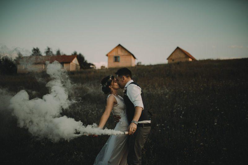 ranczo w dolinie sesja ślubna