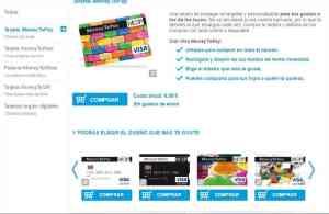 tarjeta prepago money to pay