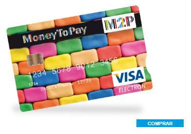 tarjeta de prepago moneytopay