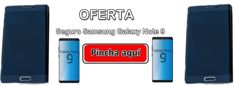 Seguro Samsung Galaxy Note 9