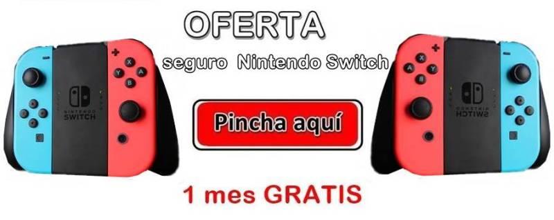 Oferta Seguro Nintendo Switch barato