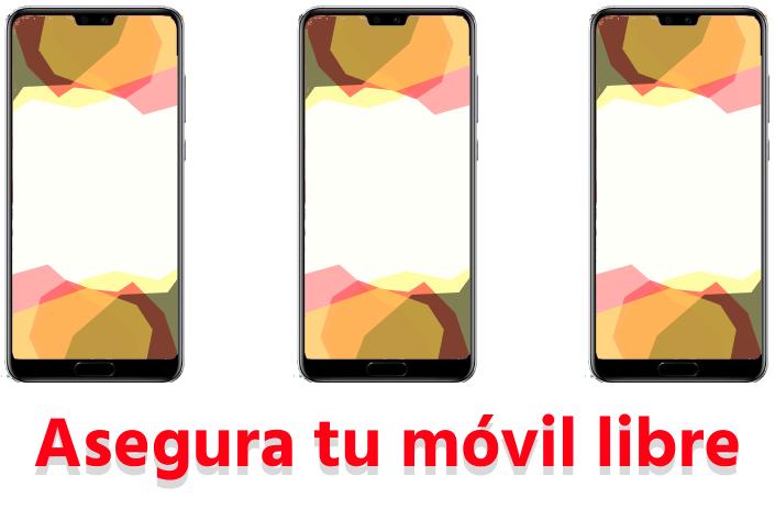 Asegurar móviles libres