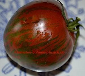 Black Zebra Tomate, dicke Tomatensorte