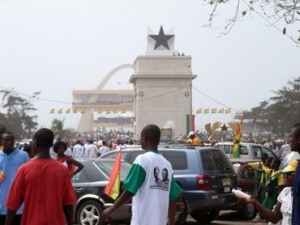 Accra's Independece Square