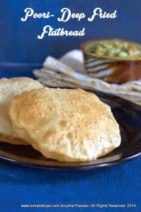 Poori Recipe| Indian Flatbread Recipes