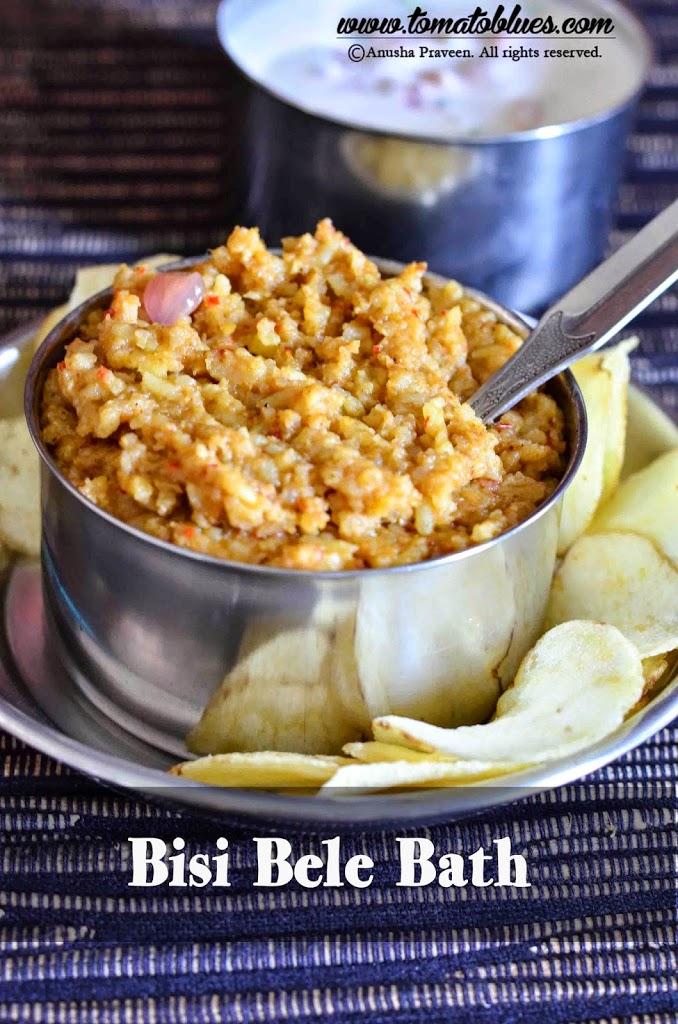 Bisi Bele Bath Recipe| Rice Recipes -