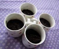 1 min microwave chocolate cake for Blog Hop Wednesdays