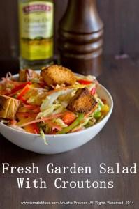 Fresh Garden Salad Recipe