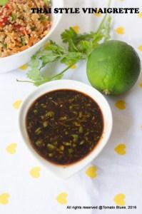Thai Style Vinaigrette Recipe