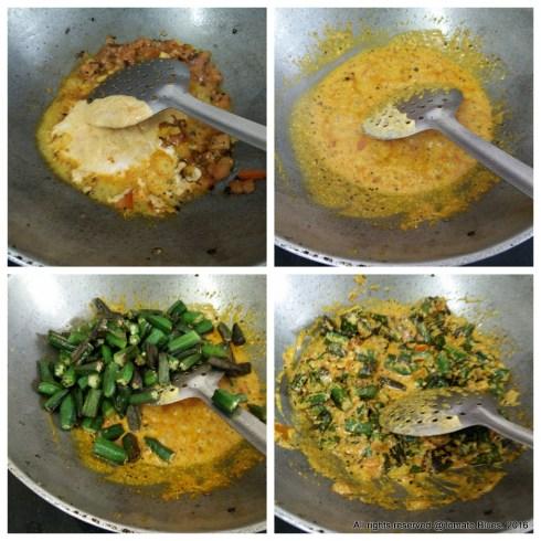 achari bhindi step by step