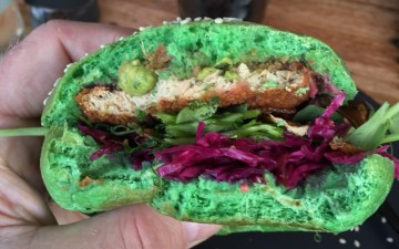 Matcha Milk Bar St Kilda burger