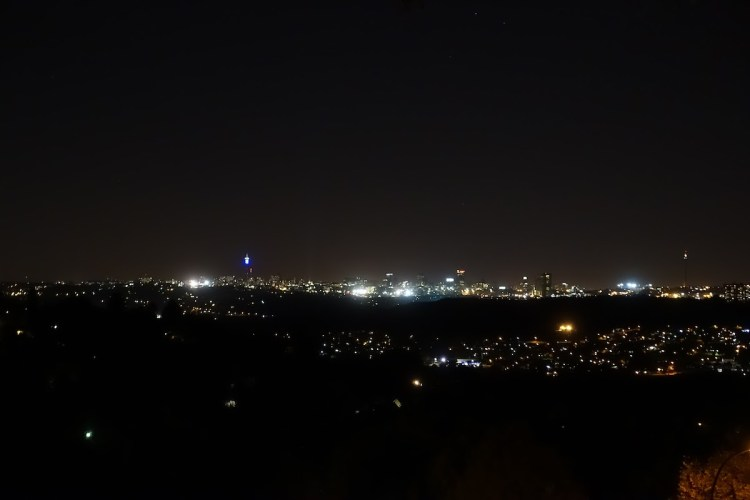 Johannesburg by night
