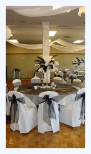 White Chaircovers at Event