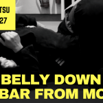 2 Minute Jiu Jitsu Ep 27: Belly Down Arm Bar From Mount