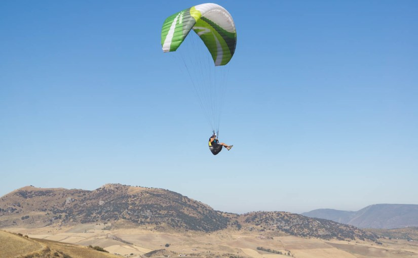 Learning to Paraglide in Algodonales