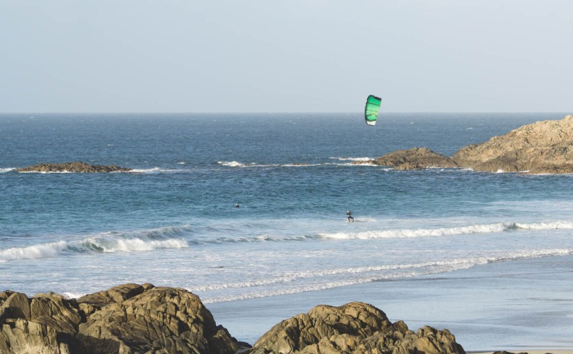Kitesurfing and SUP in Tiree