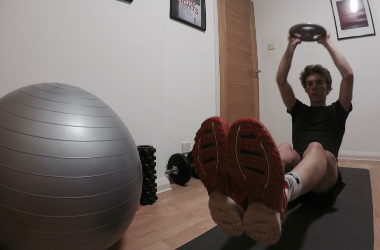 Core Strength Training for Cyclists