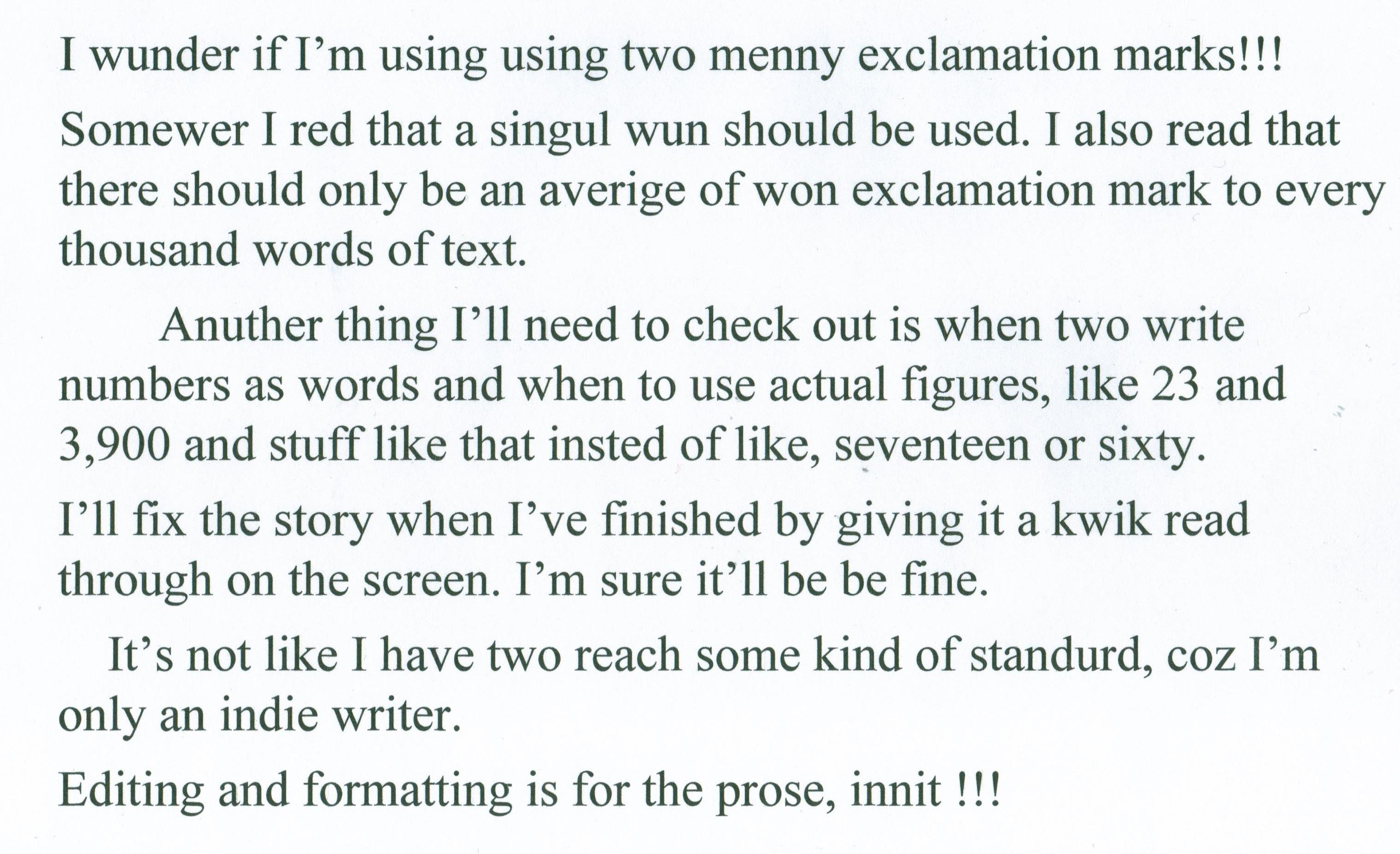 Grammar Tom Benson