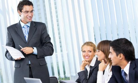 Business meeting, seminar or training