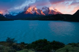 Patagonia. Las Torres Del Paine National Park, Chile. cuernos del paine