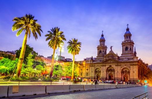 Santiago de Chile, Plaza de Armas, main square of Chile capital city