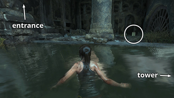 RISE OF THE TOMB RAIDER The Prophets Tomb First Water