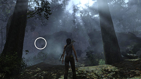 TOMB RAIDER Coastal Forest  Ghost Hunter Totem 5