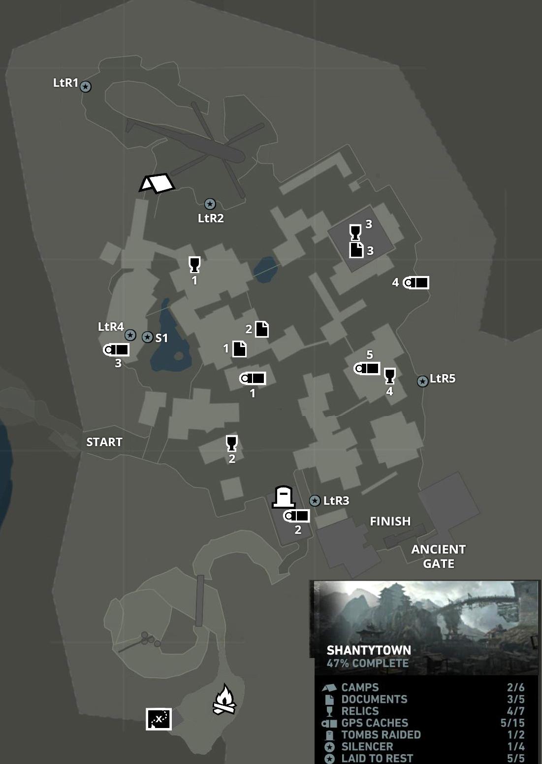 Tomb Raider Shipwreck Beach Map : raider, shipwreck, beach, RAIDER, Quick, Guide, Caches, Stella's, Raider