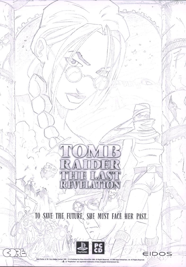 Unused Tomb Raider: The Last Revelation Advertisement