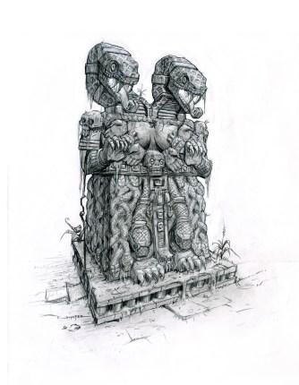 Puzzle Statue
