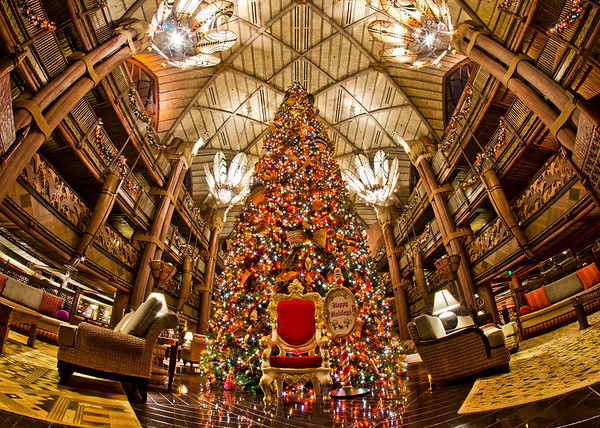 several deluxe hotels have either a large christmas tree or a seasonal display that is well worth seeing the great thing about most deluxe resorts is that